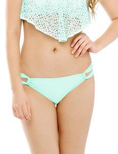 99 Degrees Green Swimsuit Bottoms Hipster