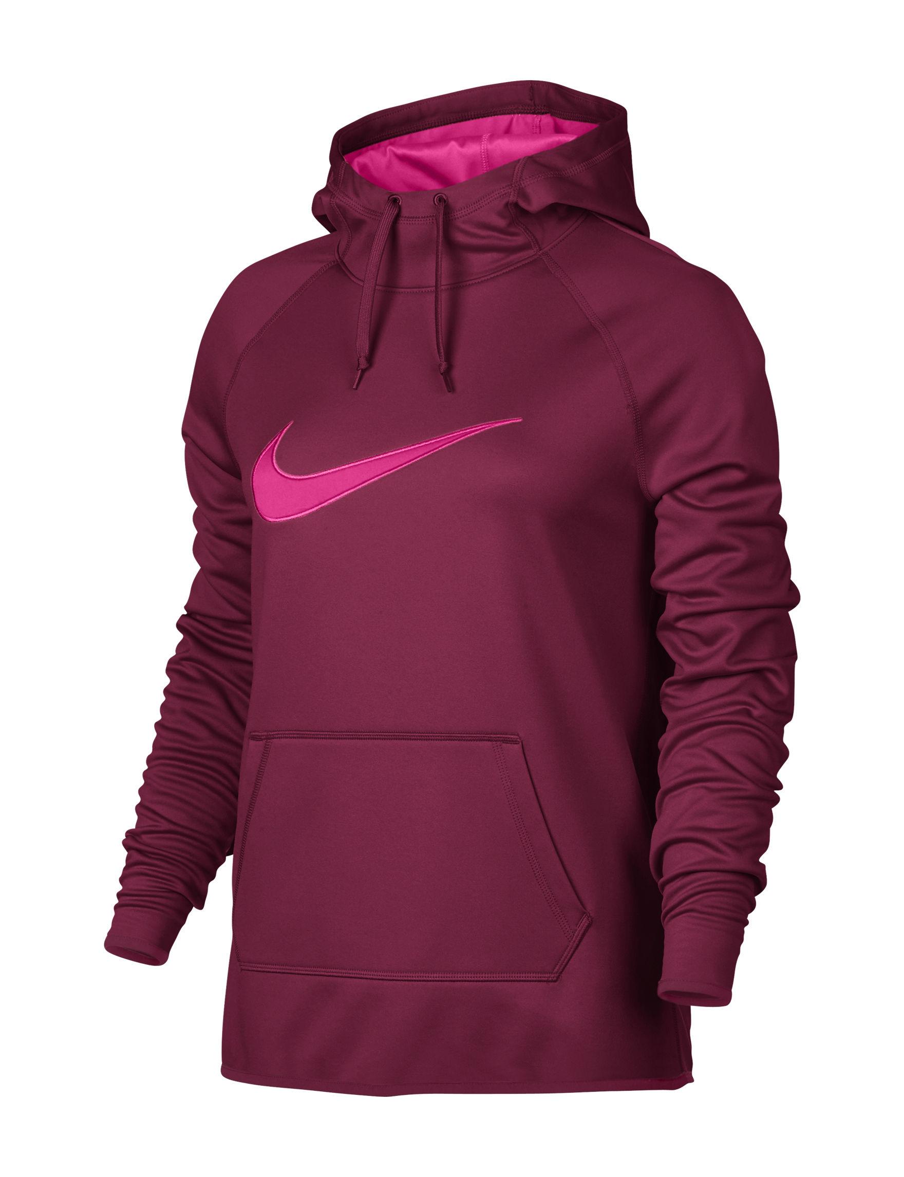 Nike Red Lightweight Jackets & Blazers