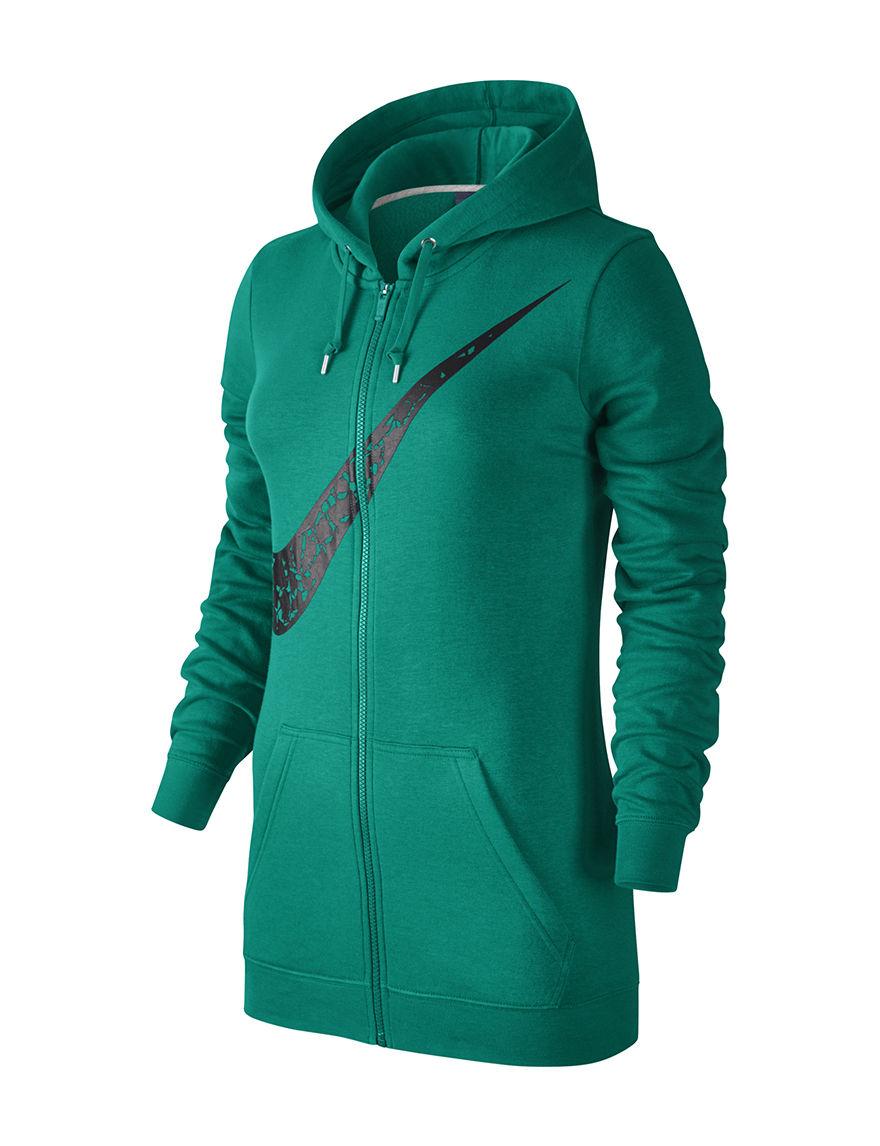 Nike Dark Green Lightweight Jackets & Blazers