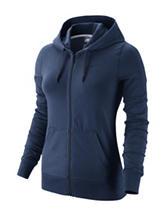 Nike® Navy Club Fleece Full Zip Hoodie