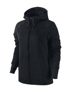 Nike® Black All Time Zip Hoodie