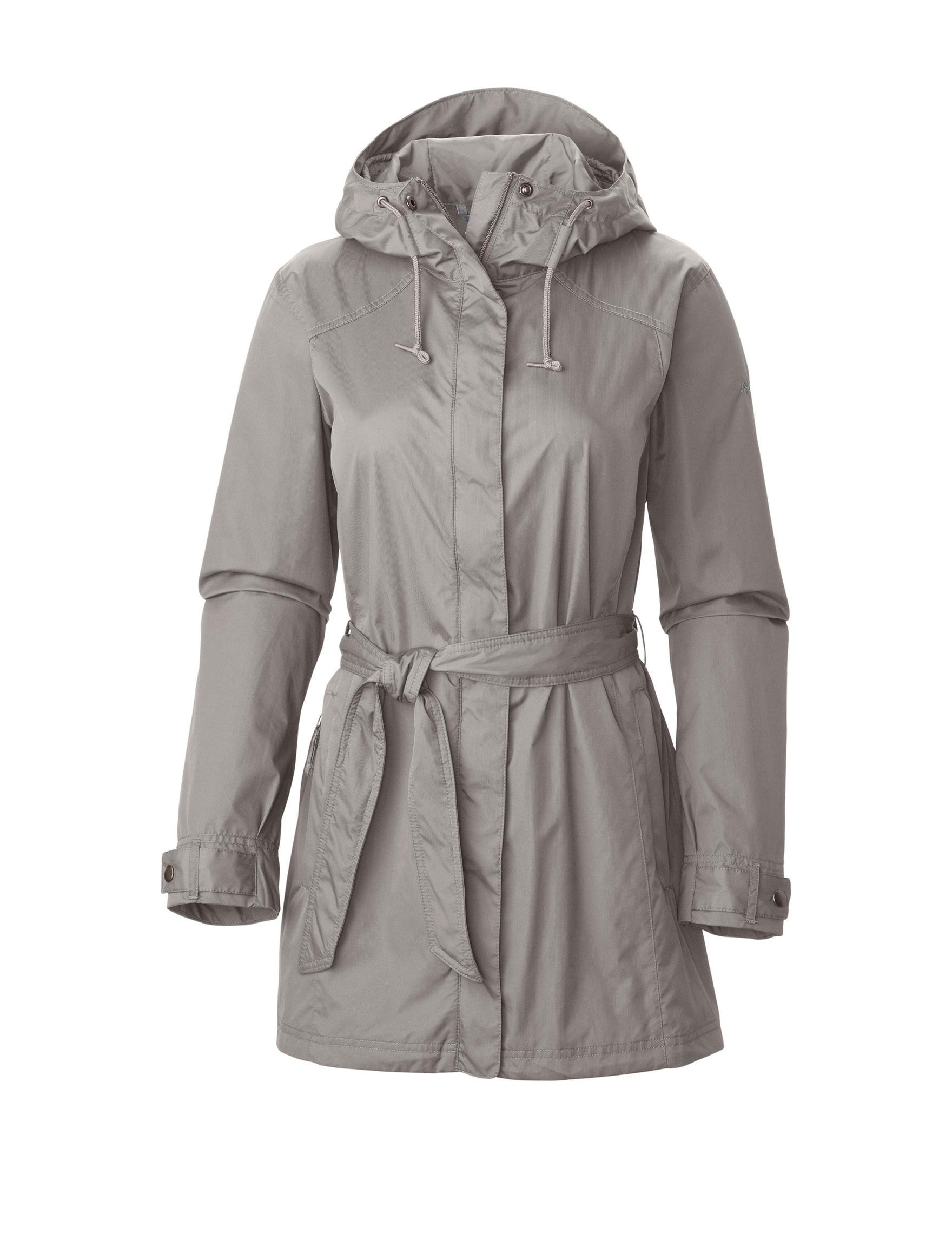 Columbia Dark Grey Rain & Snow Jackets