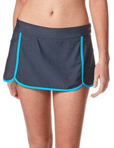 Free Country Solid Color Skirtini Swim Bottoms