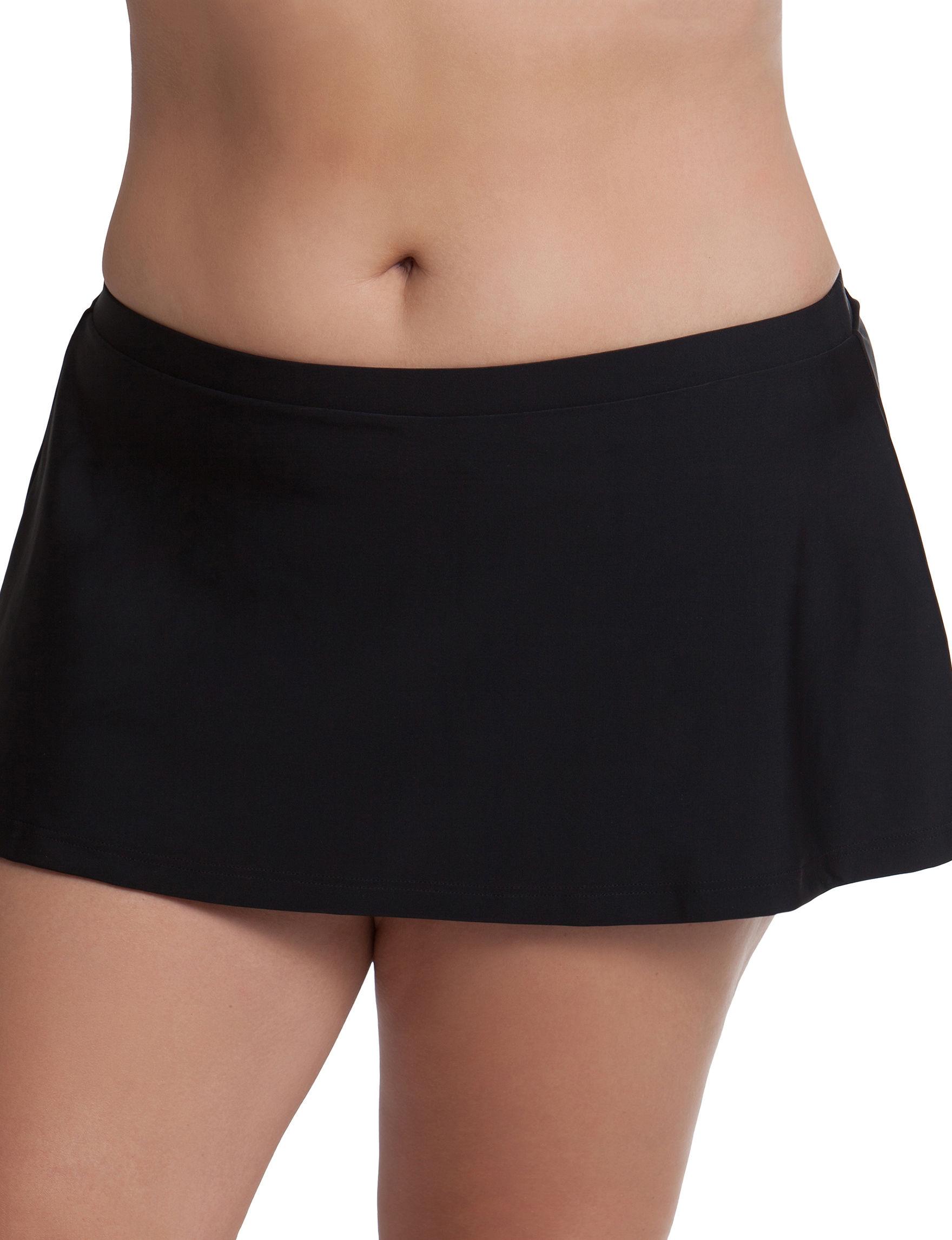 Malibu Black Swimsuit Bottoms