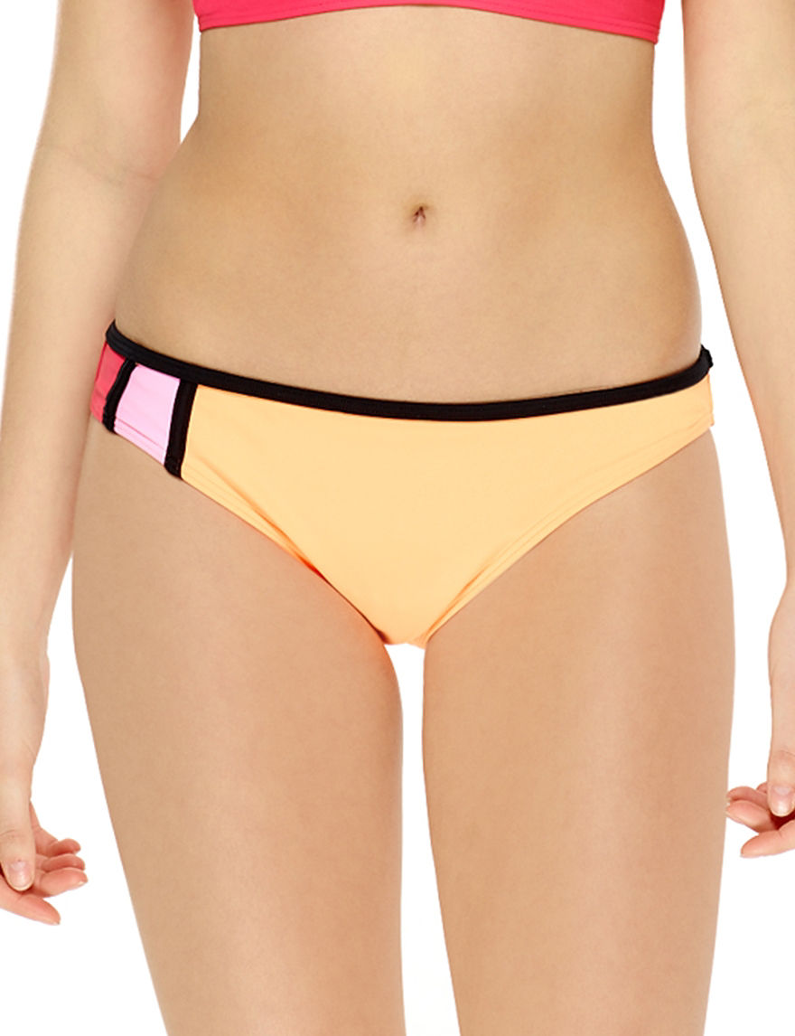 Hot Water Coral Swimsuit Bottoms Hipster