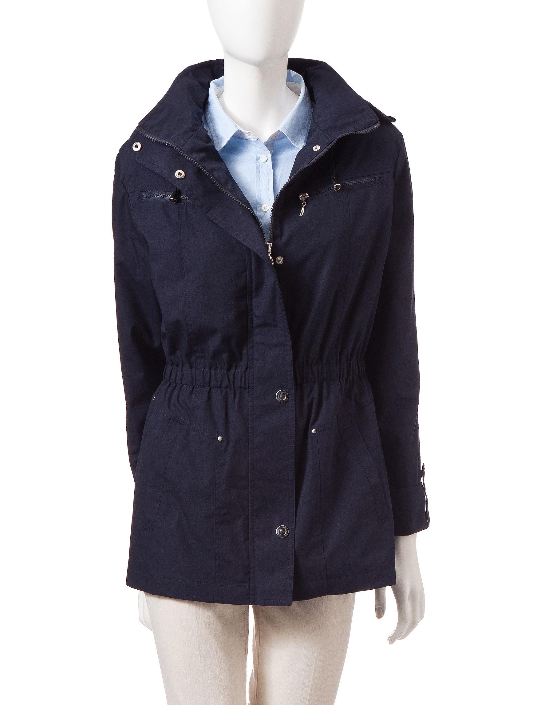 Mackintosh Navy Peacoats & Overcoats
