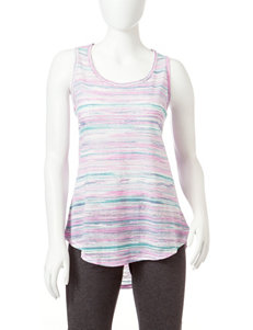 H2 Hannah Performance Space Dye Striped Knit Tank