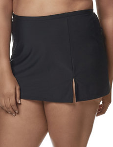 Penbrooke Black Swimsuit Bottoms Skirtini