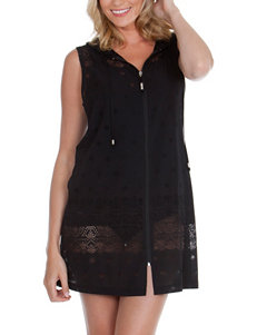 Wearbout All Out Zip Hoodie Swim Cover Up