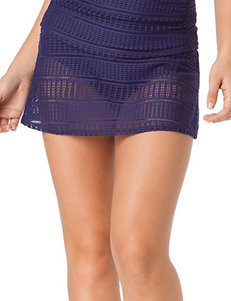 Anne Cole Cobalt Blue Crochet Skirtini Swim Bottoms