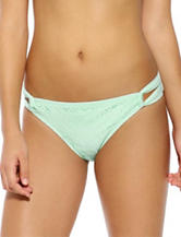 Hot Water Breezy Sash Tab Hipster Swim Bottoms