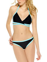 Hot Water Bright Wraps Bikini Swim Top