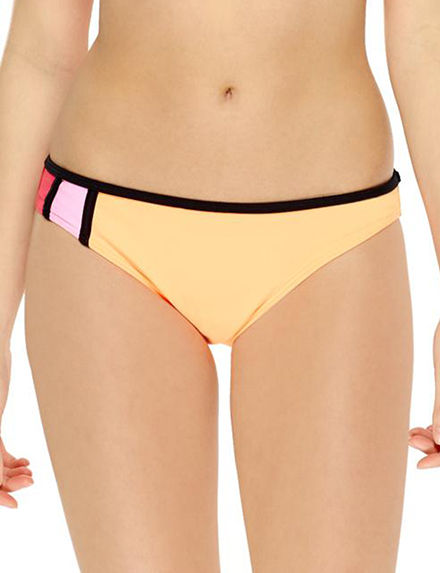 Hot Water Bright Pink Swimsuit Bottoms Hipster