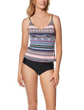 Beach Stop Tribe Talking Tankini Swim Top