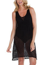 Wearbout Zig Zag Hi-Lo Tank Swim Cover Up