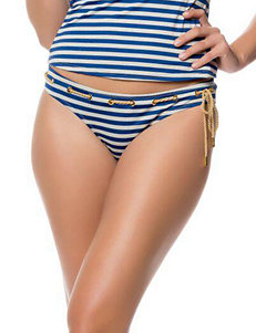 Jessica Simpson Hey Sailor Hipster Swim Bottoms