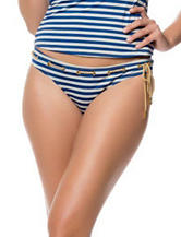 Jessica Simpson Hey Sailor Hipster Swim Bottoms