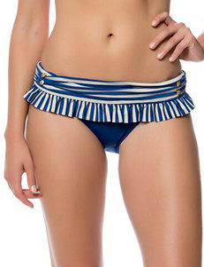 Jessica Simpson Hey Sailor Skirted Swim Bottoms