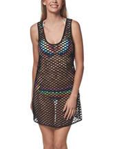 Portocruz Black Fish Net Tank Swim Cover Up