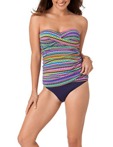 In Mocean Multi One-piece Swimsuits Bandeau