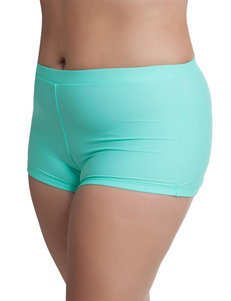 Freshwater Plus-size Beach Club Boyshort Swim Bottoms