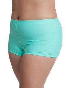 Freshwater Bright Blue Swimsuit Bottoms Boyshort