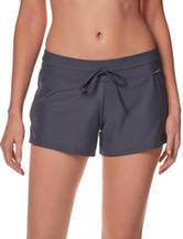 ZeroXposur Black Knit Action Swim Shorts