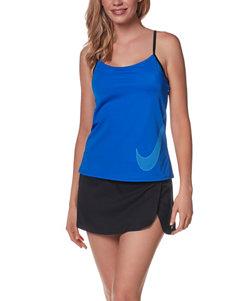 Nike Medium Purple Swimsuit Tops Tankini
