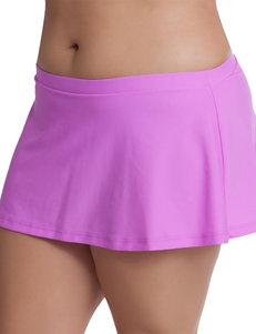 Malibu Light Purple Swimsuit Bottoms Skirtini