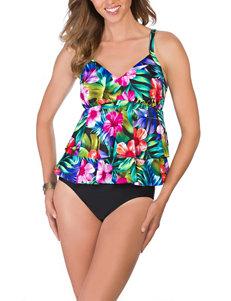 Trimshaper Multi Swimsuit Tops Tankini