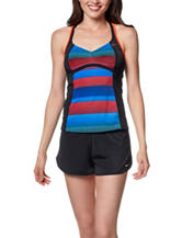 Nike® Optic Shift Racerback Tankini Swim Top