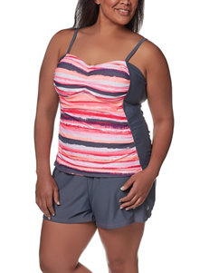 Free Country Coral Swimsuit Tops Tankini