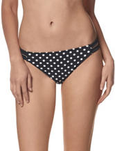 In Mocean Polka Dot Strappy Hipster Swim Bottoms