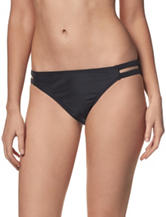 In Mocean Black Keyhole Hipster Swim Bottoms