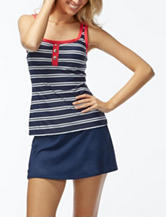 Beach House Riley Striped Racerback Tankini Swim Top