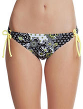 Hot Water Boho Happy Hipster Swim Bottoms