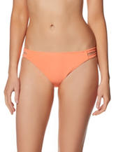 In Mocean Orange Leila Hipster Swim Bottoms