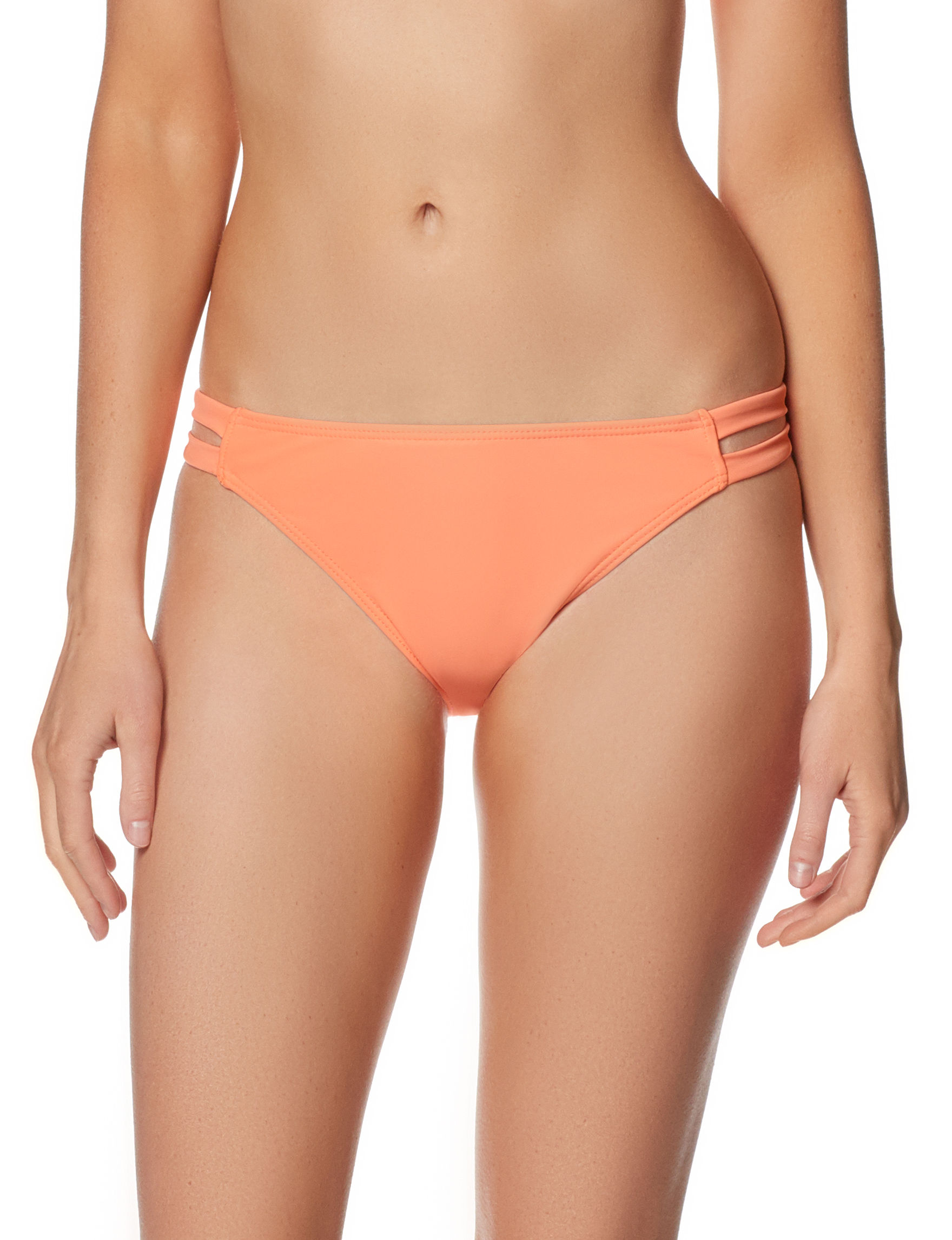 In Mocean Medium Orange Swimsuit Bottoms Hipster