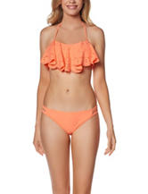 In Mocean Leila Flounce Bikini Swim Top