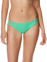 In Mocean Green Leila Strappy Hipster Swim Bottoms