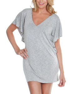 Wearbout Heather Grey Cover-Ups