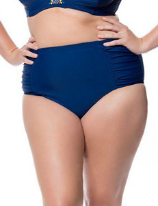 Jessica Simpson Marine Swimsuit Bottoms Hi Waist