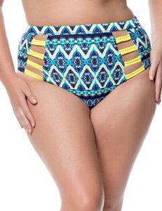 Jessica Simpson Plus-size To Dye For High Waist Swim Bottoms