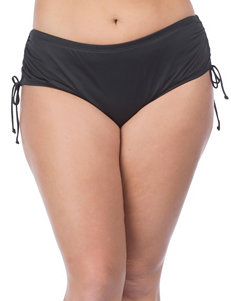 24th & Ocean Black Swimsuit Bottoms Hi Waist