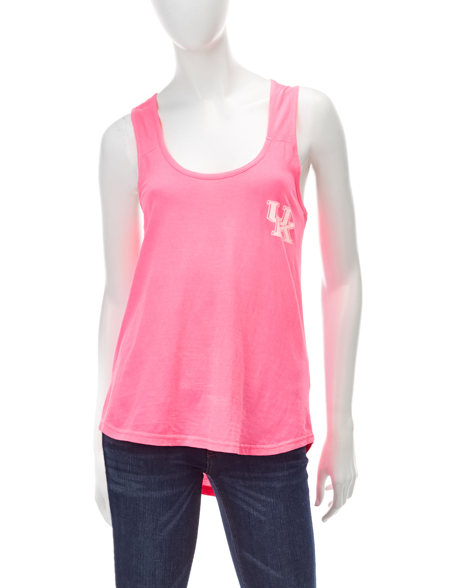 NCAA Pink Camisoles & Tanks Tees & Tanks NCAA
