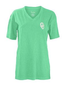 University of Oklahoma Paisley Frame Top