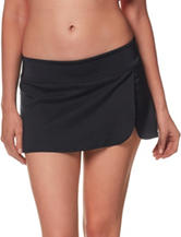 Nike® Black Boardskirt Swim Bottoms