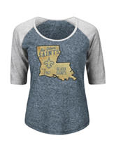 New Orleans Saints Pride Rules Raglan Top