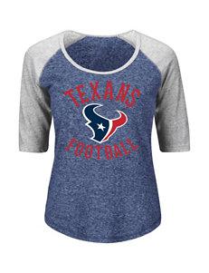 Houston Texans Act Like A Champion Raglan Top