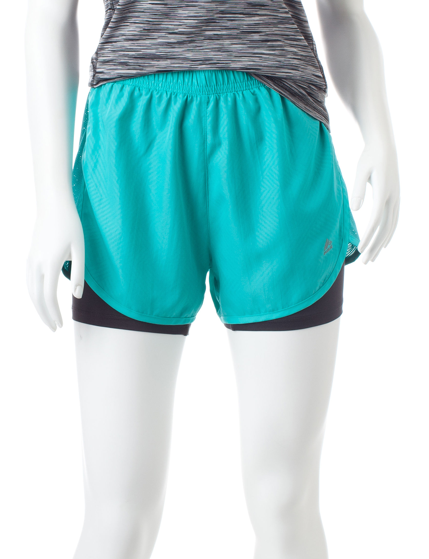 RBX Turquoise Soft Shorts